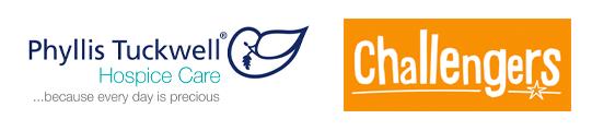 Phyllis Tuckwell & Challengers logos